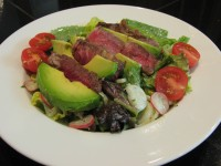 Steak Salad w/ Lime-Cumin Yogurt Dressing