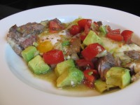 Steak and Eggs w/ Avocado Salsa