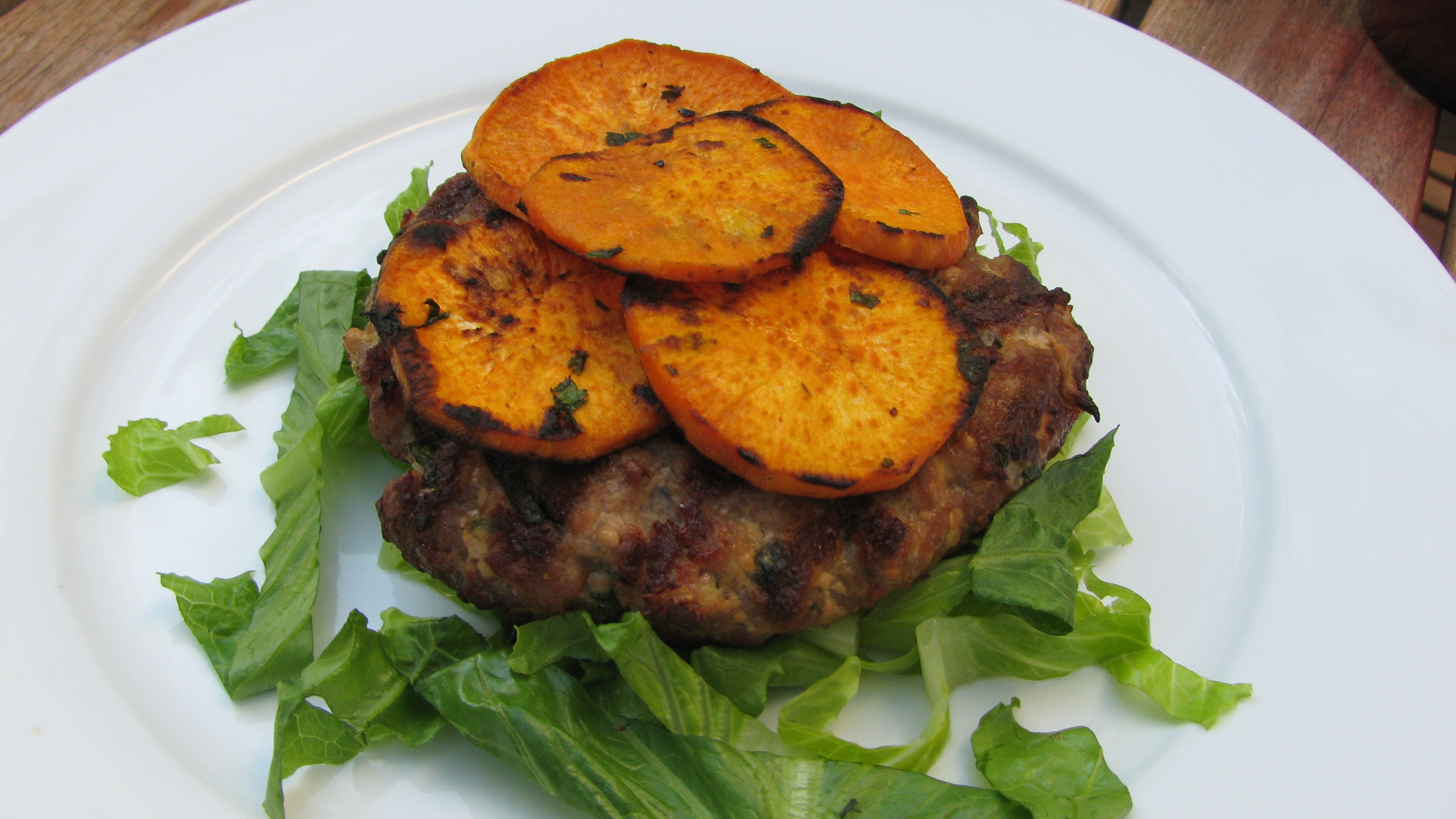 ... Pork Burgers w/ Cilantro-Lime Sweet Potatoes | The Paleo Periodical