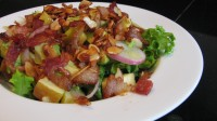Bacon, Apple, Avocado Salad