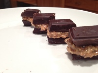 Dark Chocolate Sandwich Nibbles