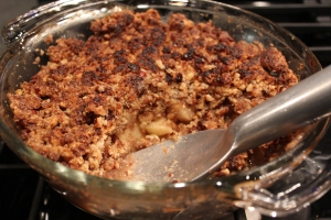 Baked Apple-Nut Crisp