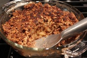 Baked Apple-Nut Crisp