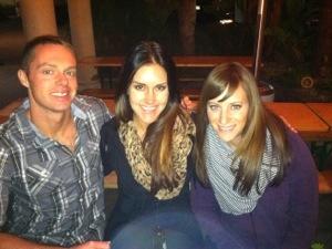 Ben with Liz Wolfe and Diane Sanfilippo.