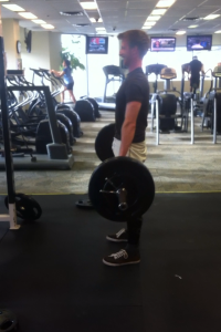 Deadlift from when I first started lifting